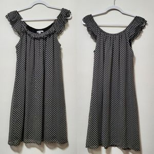 Old Navy Sheer Designed Sleeveless Dress